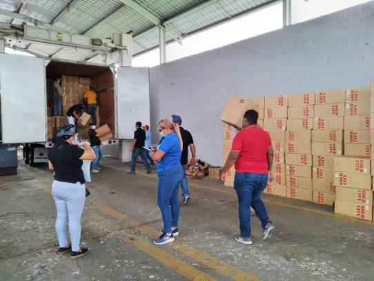 Millonario decomiso en cajas de cigarrillos de contrabando en Veraguas