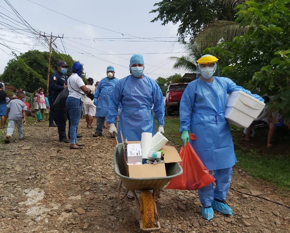 Continúa búsqueda activa de positivos a Covid-19 en Panamá Oeste
