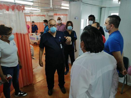 Director de la CSS detalla cambios en salas ante el incrementos de pacientes Covid-19