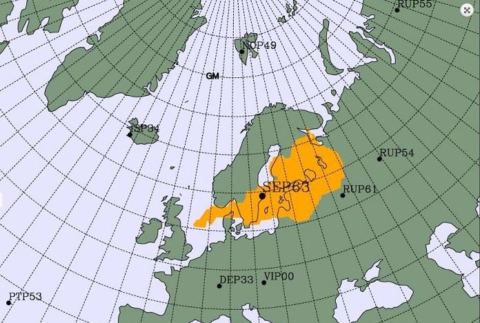 Hallan posible nube radioactiva de Chernobyl en Europa