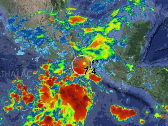 Alerta de tsunami para México y Centroamérica tras potente terremoto