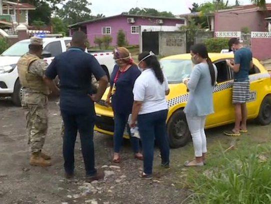Taxista que circulaba con Covid-19 será procesado por delito contra la salud