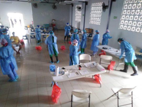 Minsa inició pruebas de hisopados a detenidos de cárcel en Chiriquí