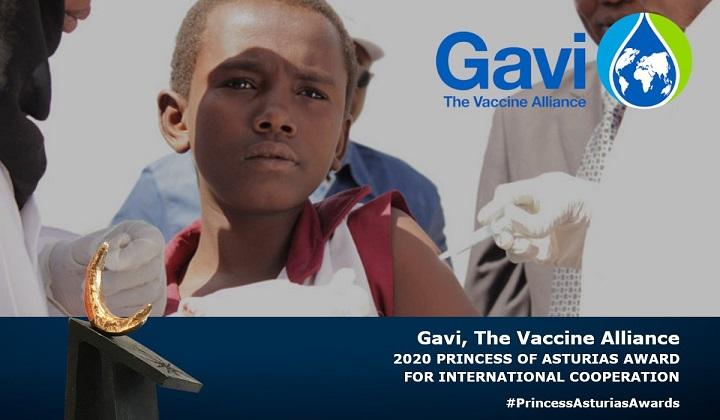 La red de vacunación Gavi, premio Princesa de Asturias de Cooperación Internacional