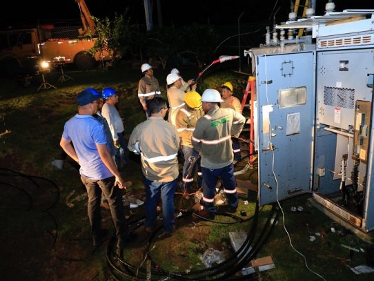 Sectores de Arraiján recuperan el servicio de agua potable paulatinamente