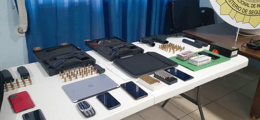 Exdirectores de estamentos de seguridad acusados de tráfico de armas