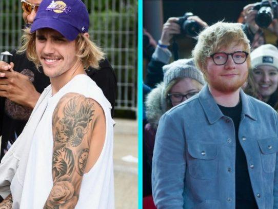 Bieber y Sheeran difunden una nueva canción juntos relacionada con su depresión