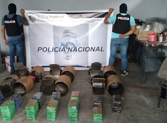 Incautan 57 paquetes con sustancia ilícita en Colón