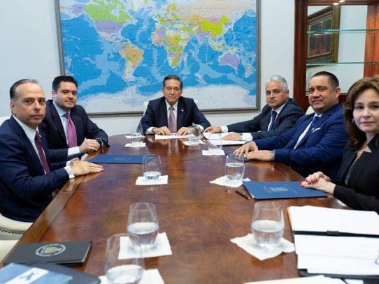 Presidente Cortizo lideró reunión para sacar a Panamá de listas gris