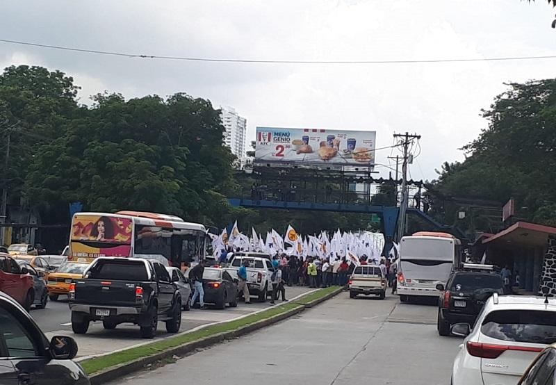 Protesta en la UP por recorte de presupuesto