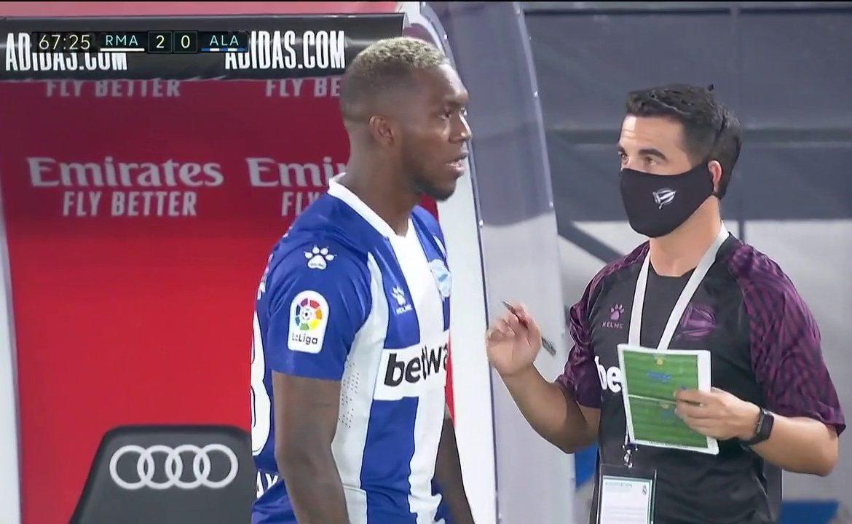 Panameño José Luis Rodríguez debuta en la primera división de España