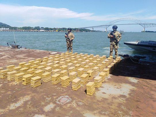 Decomisan 480 paquetes con droga en el Archipiélago de Las Perlas