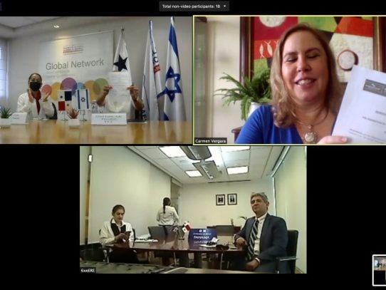 Pro Panamá firma convenio con la Federación de Cámaras de Comercio de Israel