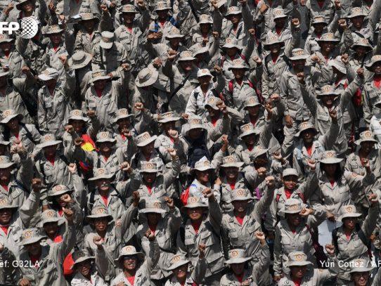 Más de un centenar de militares venezolanos con COVID-19