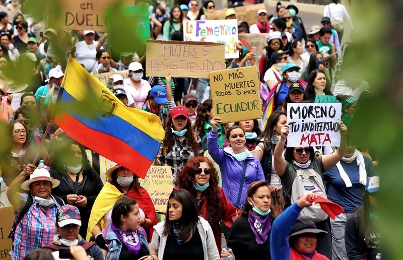 Ocho fallecidos y 1.340 heridos tras 12 días de protestas en Ecuador