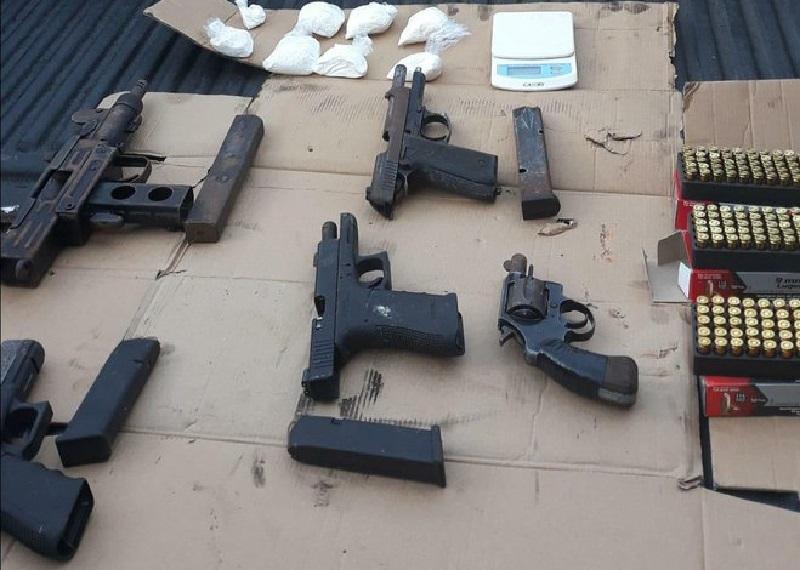 De julio a noviembre se han decomisado más de 700 armas ilegales