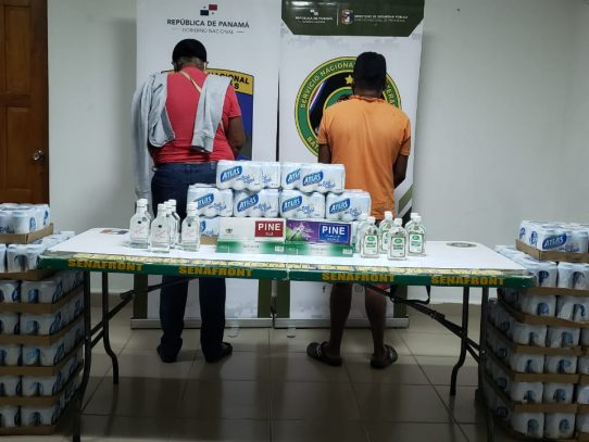 Senafront desarticula venta ilegal de bebidas alcohólicas y cigarrillos