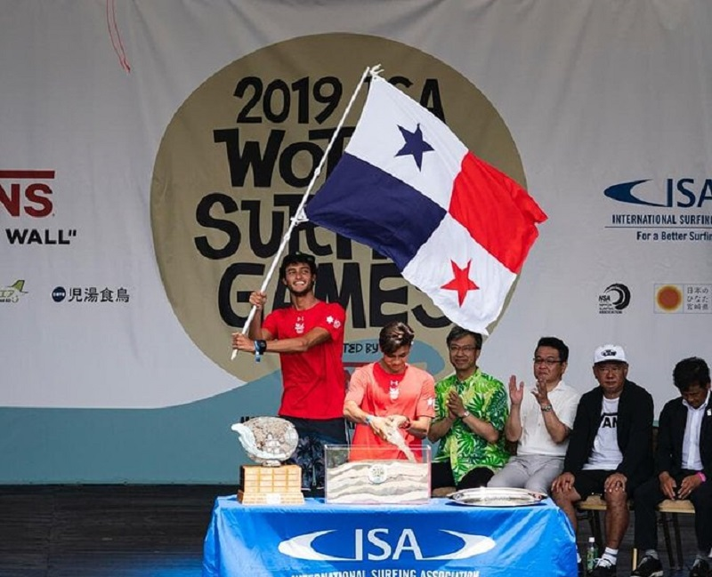 Panamá presente en Mundial de Surf en Japón