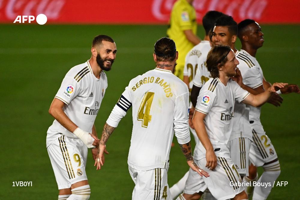 Real Madrid confirma su buen momento y se lleva el derbi ante 'Atleti'