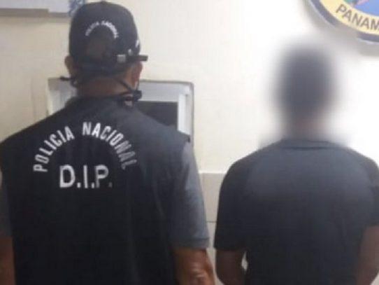 Capturan a un presunto vinculado a un homicidio en Puerto Caimito en La Chorrera