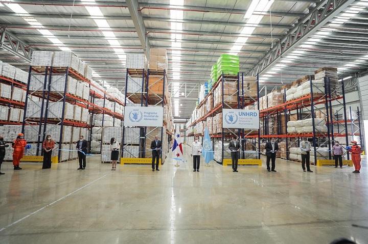 Inauguran nueva bodega en el Depósito de Respuesta Humanitaria de la ONU en Panamá