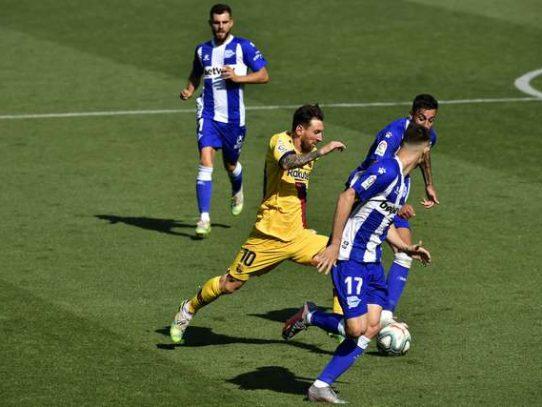 Barcelona se despide de La Liga con intrascendente goleada ante el Alavés