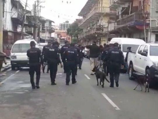 Al menos nueve detenidos tras operativos en San Miguel