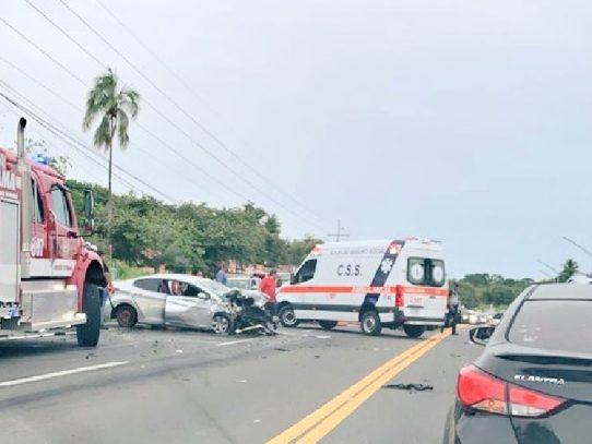 Tres muertos por accidente de tránsito en San Carlos