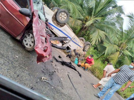 Accidente de tránsito en vía Guabito deja una víctima fatal