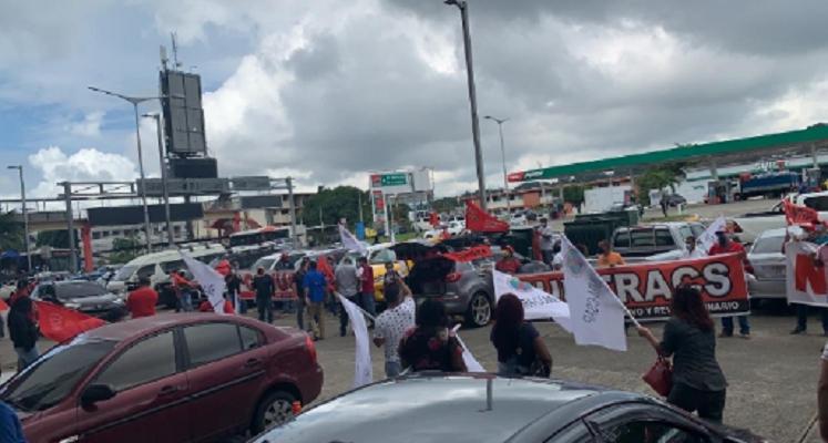 Gremios organizan jornada de protestas contra las  reformas al Código de Trabajo
