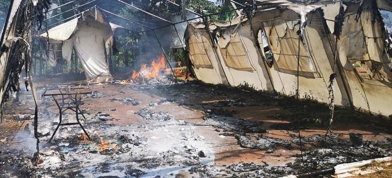 Panamá podría expulsar a migrantes por actos vandálicos en Darién