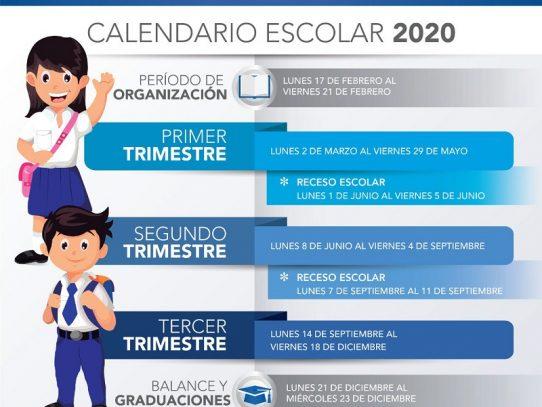 Calendario Escolar 2020 Colombia.Calendario Escolar 2020 Iniciara El Lunes 2 De Marzo En