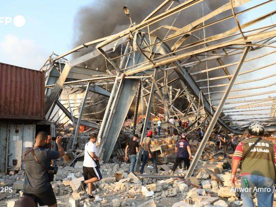 La ayuda internacional comienza a llegar a Líbano tras explosiones