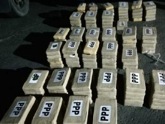 Decomisan 150 paquetes con droga en La Chorrera