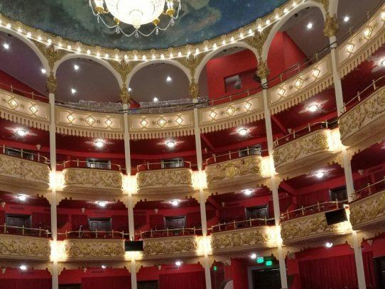 MiCultura: Restauración del Teatro Nacional al 98%