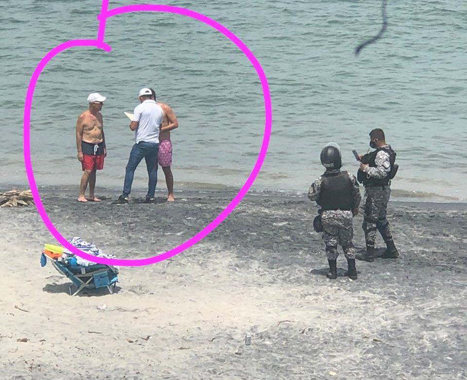 Chapuzón en Coronado le costó $200 al alcalde Fábrega