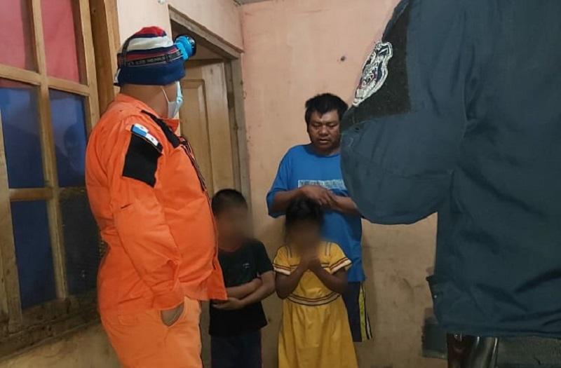 Niños que habían desaparecido en Volcán fueron hallados en un potrero