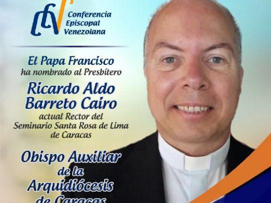 Obispo nacido en Panamá es nombrado Arquidiócesis de Caracas