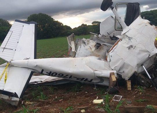 Tres muertos deja accidente de una avioneta en Guararé