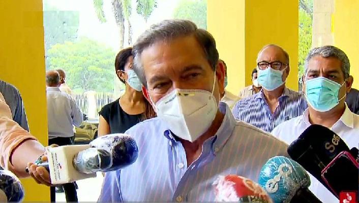 Cortizo: Centro de Amador debe estar listo para movilizar pacientes este viernes