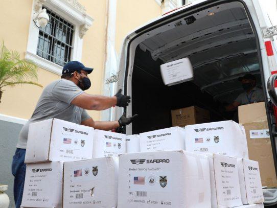 EE.UU. donará a Panamá 50 ventiladores y kits de pruebas para Covid-19