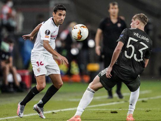 El Sevilla remonta al United y jugará otra final de 'su' Europa League