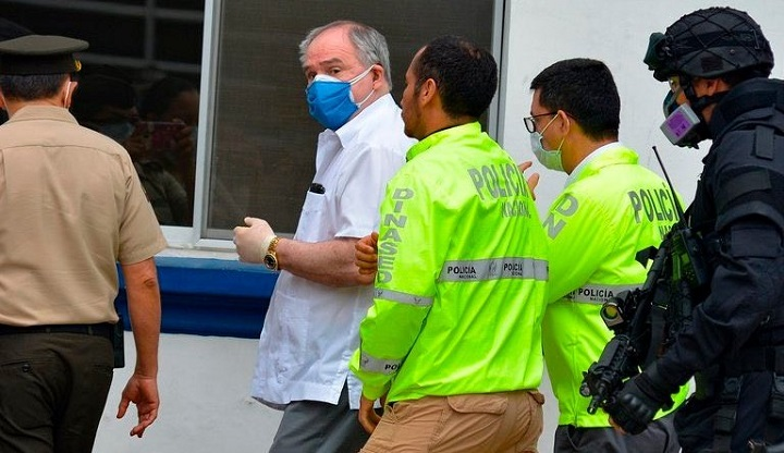 Expresidente de Ecuador Bucaram detenido por segunda vez en tres meses