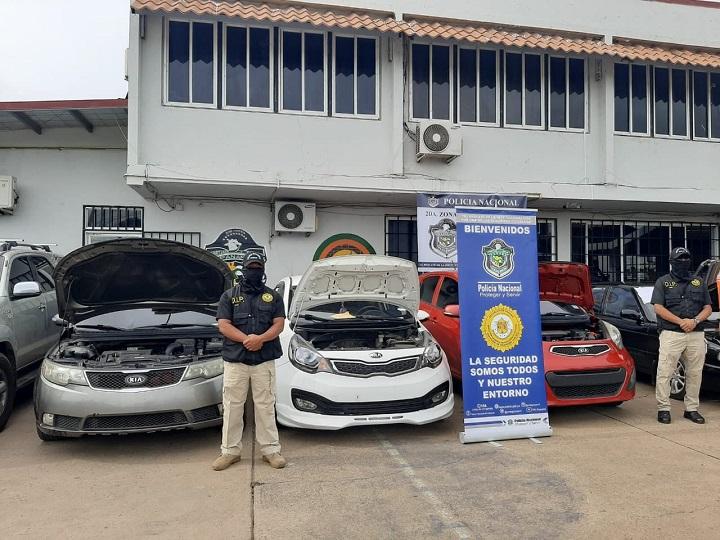 Incautan autos con documentación alterada en Coclé