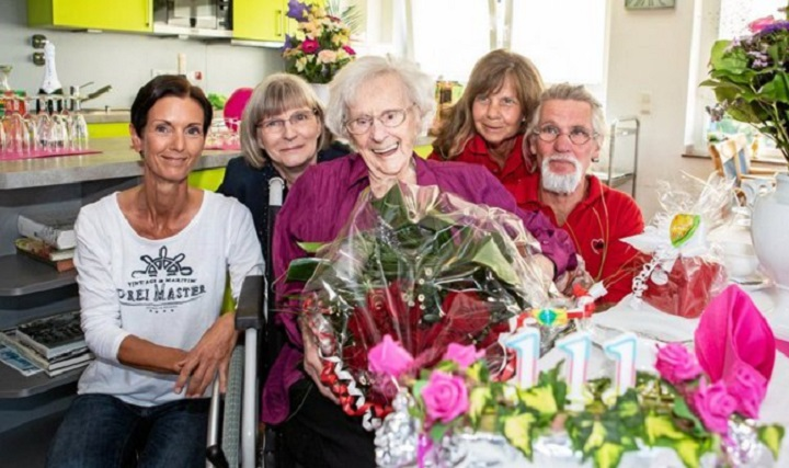 Fallece la persona más longeva de Alemania