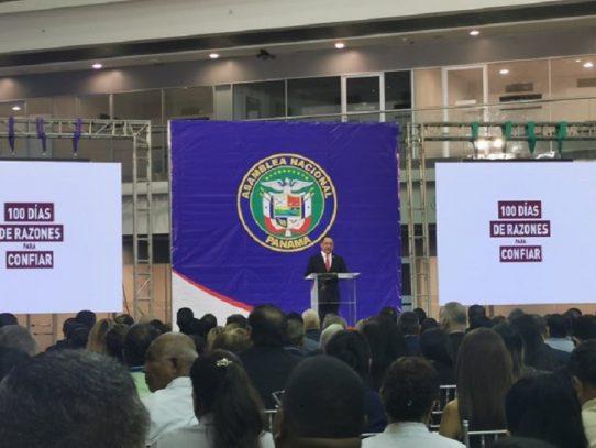 Castillero: Asamblea es un Órgano equilibrado y se han presentado leyes trascendentales