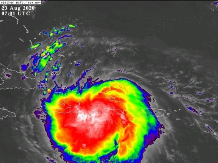 Tormenta tropical Laura deja su primera víctima en Haití