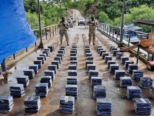 Decomisan 809 paquetes con droga en Chiriquí