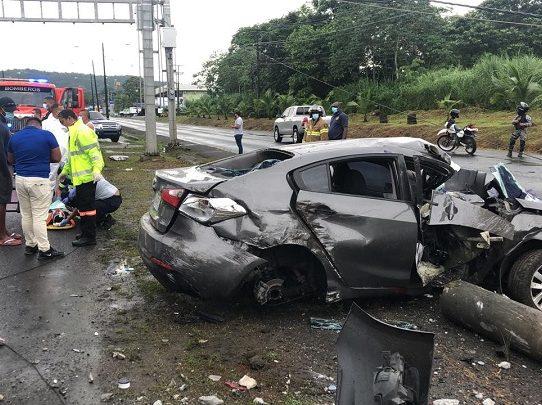 Varios accidentes de tránsito este domingo de cuarentena total