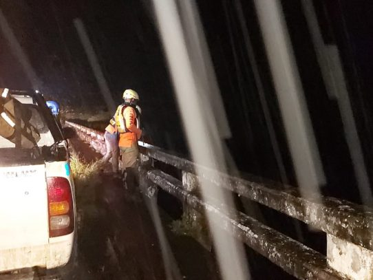 Fuertes lluvias en Veraguas dejan 10 viviendas afectadas